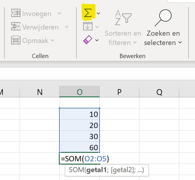 urenregistratie-optellen-Excel